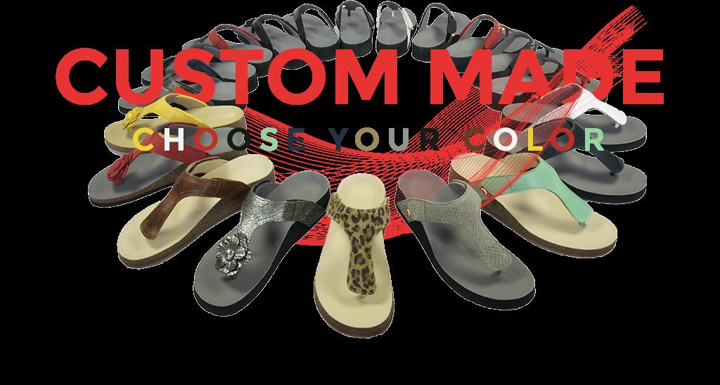 Op maat gemaakte slippers door Podotherapie Eemland en FITS